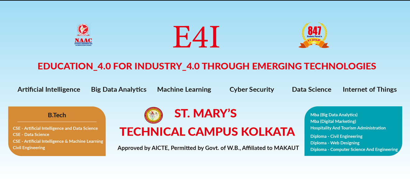 St.Marys Technical Campus Kolkata Banner-1